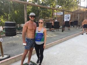 simon and Bri Mikes Gym